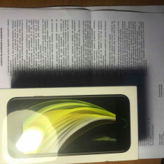 Iphone SE2-2020 Black 64Gb NOU-sigilat(Factura+Garantie 2 ANI) Codat Orange!