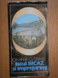 LACUL BICAZ SI IMPREJURIMI - ION BARA SI C. GRASU, BUC. 1981