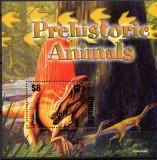 GRENADA 2005, FAUNA, Animale preisrorice, Dinozauri, MNH, Nestampilat