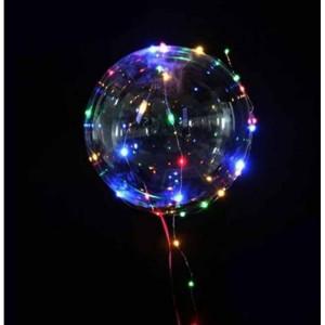 Set 3 x Balon party LED multicolor