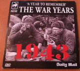 "1943 THE WAR YEARS ""A Year To Remember "" - DVD Original"