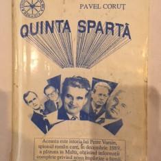 Pavel Corut, Quinta sparta