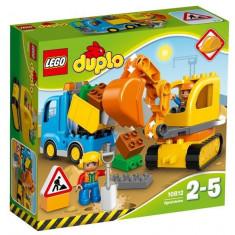 Camion si excavator pe senile LEGO DUPLO (10812)