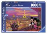 Puzzle Disney Apusul La Paris, 1000 Piese