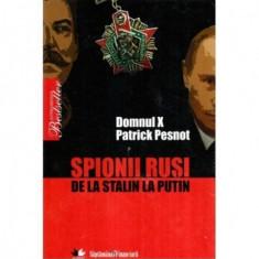 Spionii rusi de la Stalin la Putin