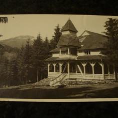 Carte postala - Colibita - Sanatorul Caritatea - 1934