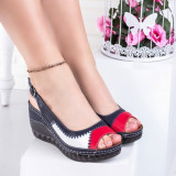 Sandale dama cu talpa ortopedica bleomarin Lalima