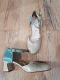 LICHIDARE STOC! Superbi pantofi dama noi piele naturala fina comozi 37