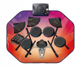 Covor muzical cu activitati Glowing Drum Kit 63x80 cm