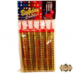 Set de 6 Artificii tort 30 cm