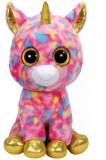 Jucarie de plus TY Boos 42 cm - Unicorn multicolor