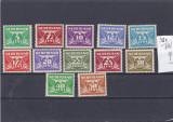 Olanda   Michel  380 - 391, Nestampilat