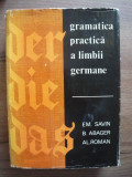SAVIN / ABAGER / ROMAN - GRAMATICA PRACTICA A LIMBII GERMANE - 1968