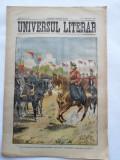 Ziarul Universul Literar ,14 Octombrie 1902 , Regele Carol I , cromolitografie
