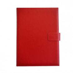Agenda A4 nedatata cu clapa magnetica Nova rosie 10230220