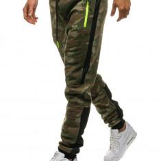 Pantaloni trening camuflaj multicolor Bolf 3783C