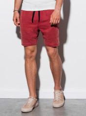 Pantaloni scurti barbati W223 - rosu foto