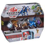 Set de lupta Bakugan S2 Ultra Howlkor si Dragonoid cu Baku-Gear