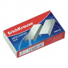 Set 1000 capse nr 24/6 ErichKrause pentru capsatoare