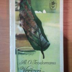 VERSURI AL.O.TEODOREANU