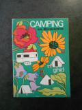 CAMPING IN ROMANIA (1970, contine harta)