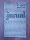 Jurnal - EUGEN BARBU