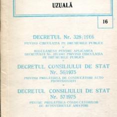 Legislatie civila uzuala (1981)