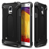 Husa din policarbonat dur compatibila cu Samsung Galaxy Note 4 N910, Negru