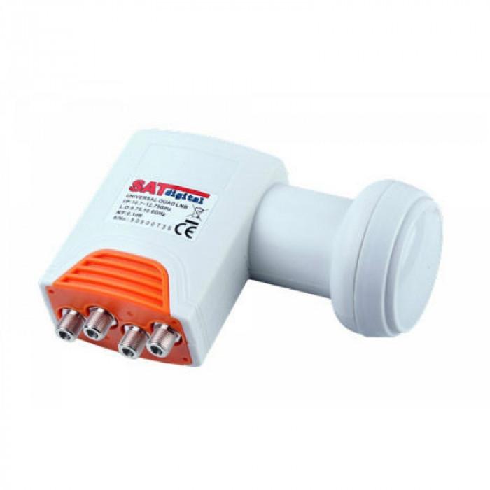 Convertor LNB Quad Cabletech, 0.1 dB