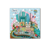 Puzzle Paris, 120 piese, 6 ani+