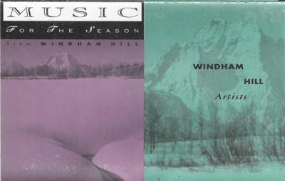 Caseta Windham Hill Artists – Music for the Season, originala foto