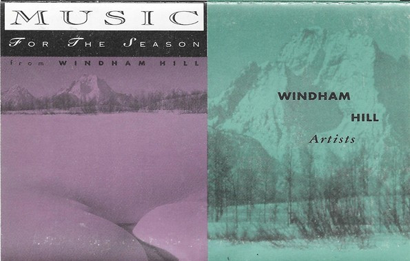 Caseta Windham Hill Artists – Music for the Season, originala