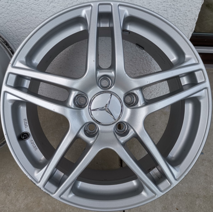 Jante Mercedes 5x112 R17, C (W203, W204), E, A Class, VW, Skoda, Audi