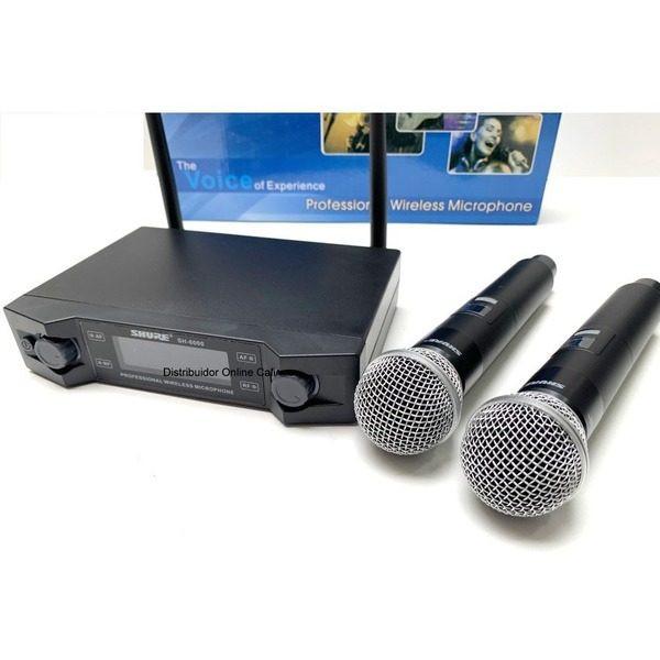 Set 2 microfoane profesionale wireless Shure SH-6000