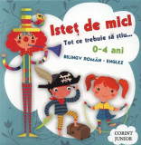 Cumpara ieftin Cutie Isteț de mic! Tot ce trebuie să ştiu... Bilingv român-englez (0-4 ani). 5 cărticele