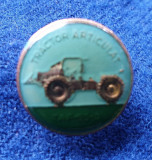 Insigna Tractor articulat - TAF 65 - vehicul forestier