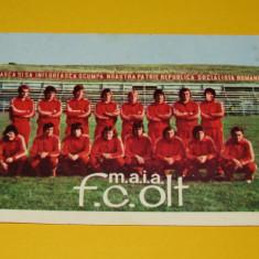 Foto - echipa de fotbal FC OLT Scornicesti (sezonul 1980/1981)