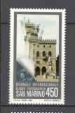 San Marino.1985 Bienala internationala de arta fotografica  SS.34