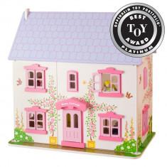 Casuta din lemn pentru papusi - Rose PlayLearn Toys