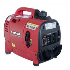 Generator benzina tip invertor Raider RD-GG05, 1000W, 4 timpi