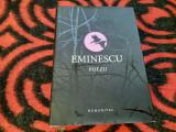 MIHAI EMINESCU - POEZII EDITIE DE LUX,CARTONATA,HUMANITAS
