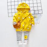 Costumas galben pentru fetite - The duck (Marime Disponibila: 12-18 luni...