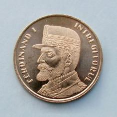 ROMANIA  -  50 Bani 2019  -  Regele Ferdinand I Întregitorul  -  UNC