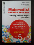 MATEMATICA BREVIAR TEORETIC EXERCITII PROBLEME PROPUSE REZOLVATE Simion Nicolae