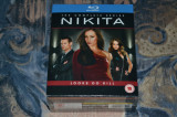Film: Nikita: The Complete Series [4 Sezoane - 13 Discuri Blu-Ray] UK, BLU RAY, Actiune, Engleza