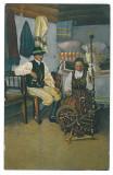 4419 - ETHNIC, Sasi din Tinutul Secuiesc - old postcard, CENSOR - used - 1917, Circulata, Printata