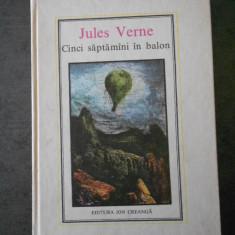 JULES VERNE - CINCI SAPTAMANI IN BALON (1978, Editura Ion Creanga)