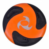 Disc zburator frisbee din spuma, 25.5cm, portocaliu/negru
