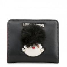 Portofel, de dama, Love Moschino - JC5538PP16LK - Negru