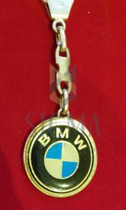Breloc din argint, cu sigla BMW